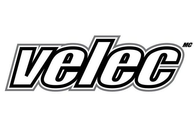 Velec logo white ts III