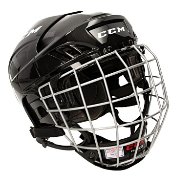 ccm fitlite 40 casque combo junior with fl40 facemask noir E3512250J