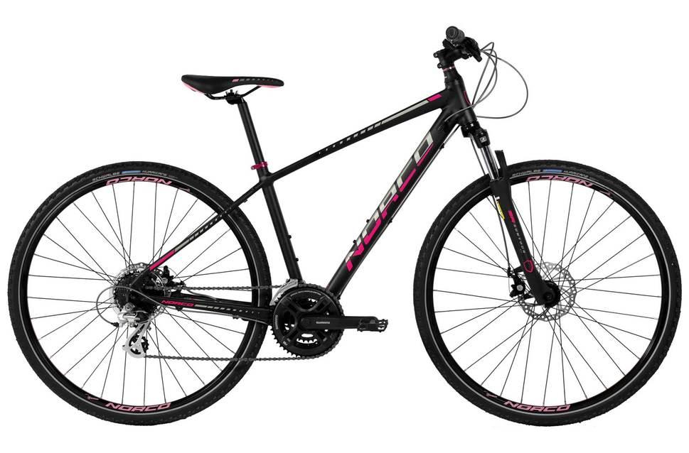 norco xfr 4 forma 2016 womens hybrid bike black EV243587 8500 1